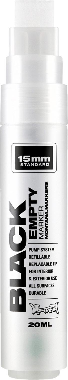 Montana Black Empty Marker 15mm Standard