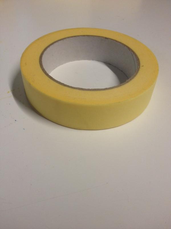 Zakrývací páska pro malířské práce 25mm x 50mm
