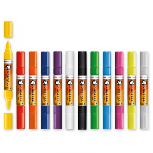 Molotow ONE4ALL™ Acrylic Twin 1,5 - 4 mm