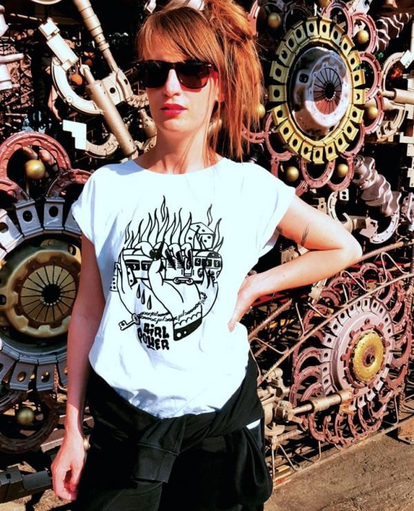 Girl Power T-shirt dámské