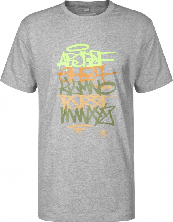 Eight Miles High ABC T-shirt Grey