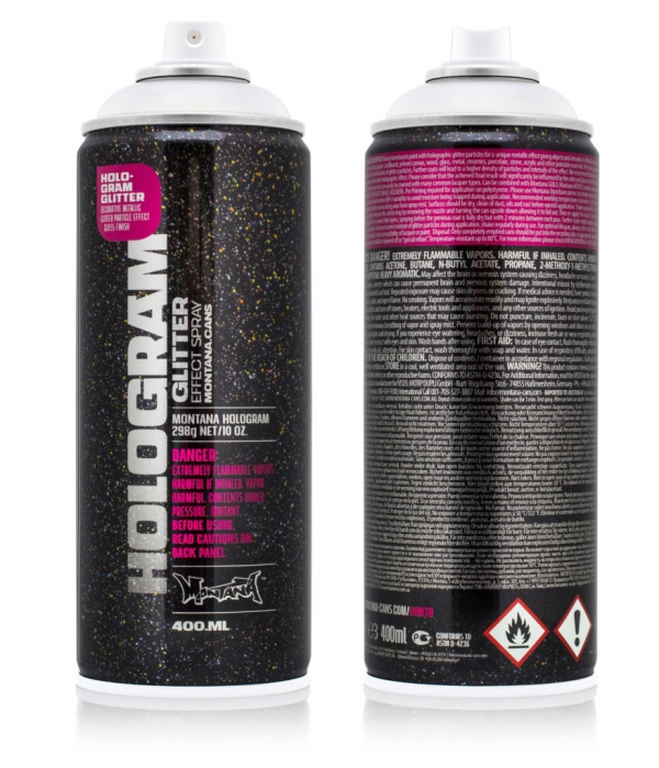 Montana Hologram Glitter 400 ml