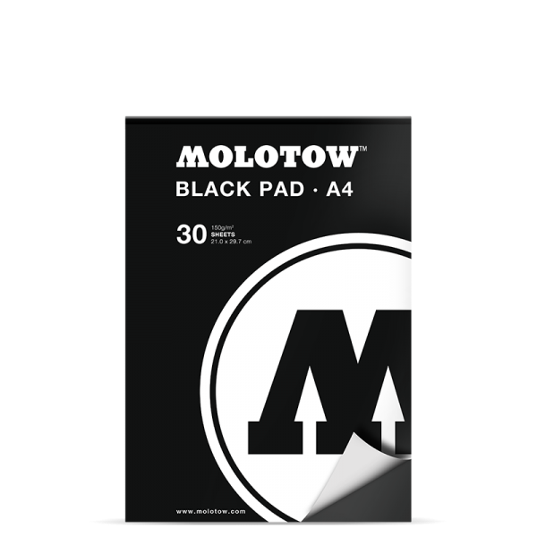 Molotow Basic Black Pad A4