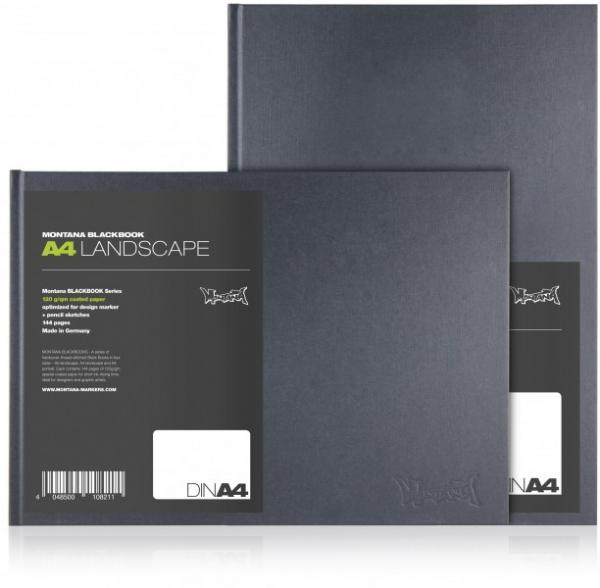Blackbook A4 Montana - Cans LANDSCAPE