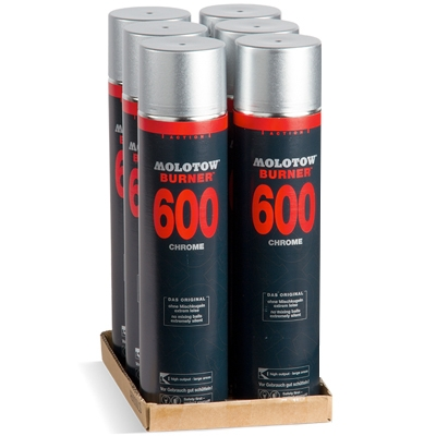 MOLOTOW ACTION BURNER 600ml SIXPACK!