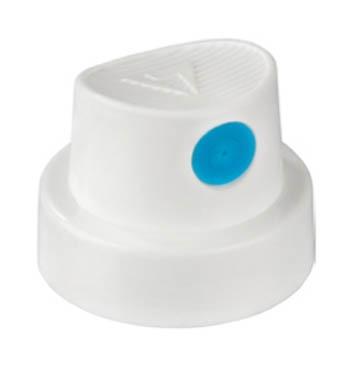 Soft White/blue Cap
